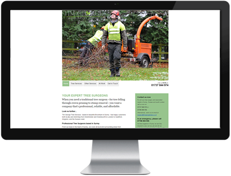 Surrey Tree Surgeons - Tim George Tree Services Ltd